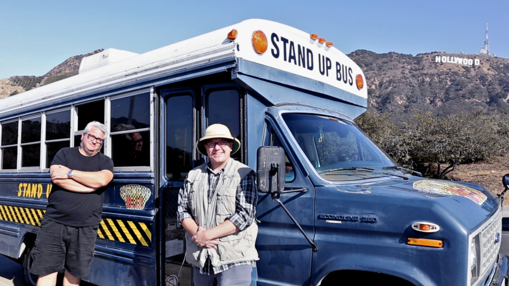 The Stand Up Bus Goes Hollywood